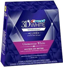 CREST 3D White Luxe WhitestripsGlamorous White